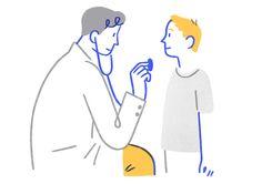 virus animation Cancer Prevention Foundation on Behance Outline Illustration, People Illustration, Character Illustration, Digital Illustration, Medical Illustrations, Art Illustrations, Anatomy Art, Doodle Drawings, Line Art