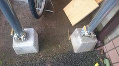 愛車を錆びさせない!! 自転車置き場を単管パイプで自作(DIY) - 湘南の風にのせて