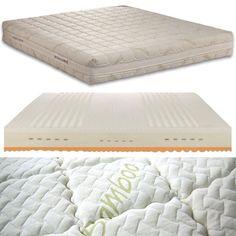 Ein perfekter Liegekomfort und ein optimales Schlafklima – bietet Ihnen die Matratze Bamboo Deluxe Mattress, Bed, Furniture, Home Decor, Deep Sofa, Luxury, Decoration Home, Stream Bed, Room Decor
