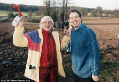 Pedophiles - We Have A Problem; Katherine Frisk, October 24, 2015, Veterans Today: Tony Blair with his good friend, serial child molester Jimmy Saville. The sheep are scared.