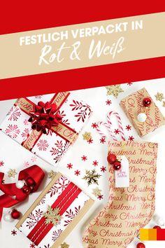 Bei Weihnachtsgeschenken zählen eben auch die Äußerlichkeiten. Bei LIBRO findet ihr vom Geschenkpapier bis zum Klebeband alles, was ihr für kreative Weihnachtspackerl braucht! #libroat #geschenke #verpacken #weihnachten #giftwrapping #geschenkpapier #christmas #giftwrappingideas Wrapping Ideas, Gift Wrapping, Advent, Merry, Christmas, Gifts, Tape, Present Wrapping, Wrapping Gifts