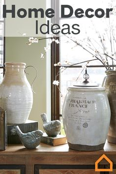 Accessories can make or break your space. Whether you want a rustic farmhouse or coastal cottage feel, find the right home décor pieces for your style. Blankets, throw pillows, wall art and candle holders help create a cohesive look.