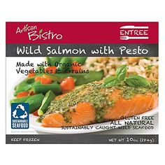 Artisan Bistro Wild Salmon with Pesto: We taste-tested healthy frozen meals. Here are the freshest, healthiest and most appetizing microwavable dinners.