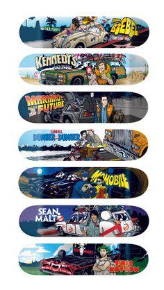 Skateboards - Be Kind, Rewind. 2014 Series