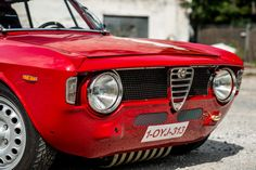 Classic Car News – Classic Car News Pics And Videos From Around The World Alfa Romeo Junior, Alfa Romeo Gta, Alfa Gta, Vintage Racing, Vintage Cars, Ferrari, Alfa Cars, Alfa Giulia, Classic Italian
