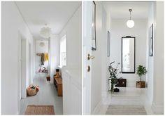 Cómo decorar un pasillo estrecho