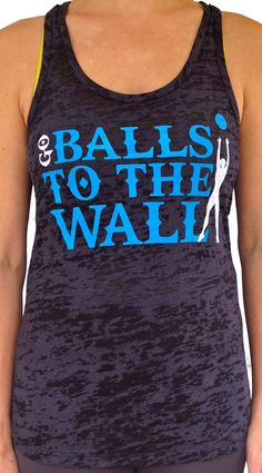 Because I love me some wall balls