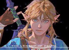 The Legend Of Zelda, Legend Of Zelda Breath, Zelda Breath Of Wild, Breath Of The Wild, Game Character, Character Concept, Character Design, Ben Drowned, Image Zelda