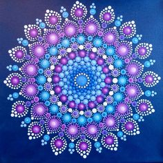 . Dot Art Painting, Pebble Painting, Pebble Art, Stone Painting, Mandala Painted Rocks, Mandala Rocks, Mandala Drawing, Mandala Painting, Mandala Canvas