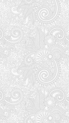 Wallpaper design flower line white bw pattern. Inspirational Wallpapers, Funny Wallpapers, Whatsapp Wallpaper, Wallpaper Backgrounds, Boxing Day, Iphone Design, Graphic Design Pattern, Wallpaper Iphone Disney, Pixel