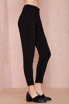 Walk Away Pleated Trousers - Pants