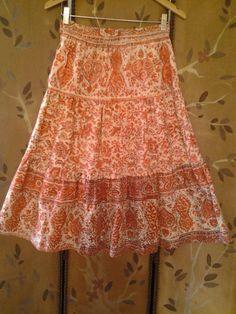 Indian boho skirt by Wotsnewpussycat on Etsy, $35.00