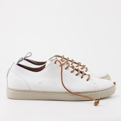 RIVA Spring Summer 2017collection.  Leather and waxed cotton Laces.  EVA (Ethyl vinyl acetate) soles and EVA base of the insoles. Lycra internal technical detail. Internal linings in cotton