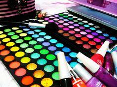 beauty, cosmetics, exotic, eye shadow, lip stick