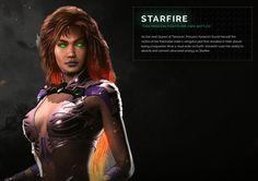 Starfire yes!