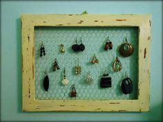 Earrings frame - Cornice portaorecchini riecolab