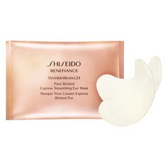Shop the Benefiance Wrinkleresist24 Pure Retinol Express Smoothing Eye Mask at Shiseido.com and reduce wrinkles in just 15 minutes.