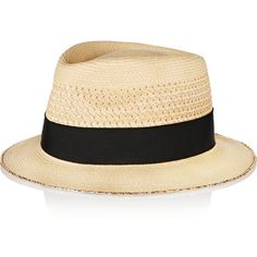 Eugenia Kim Francis woven straw hat (1.795 NOK) ❤ liked on Polyvore