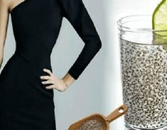 Consume a mixture of chia with lemon and you will get a flat abdomen in 1 week - Our Wellness Healthy Drinks, Fat Burning, Health Tips, Detox, Weight Loss, Flats, Actors, Fitness, Herbs