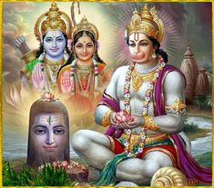 Lord Hanuman is an ardent follower of Lord Rama and is believed to be an incarnation of Lord Shiva to help Ram