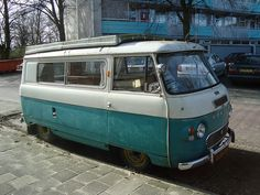 1970 Commer FC 2500 Camper by Skitmeister, via Flickr