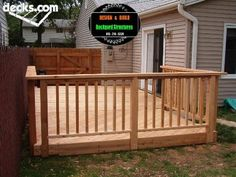 Wood Deck Picture Gallery