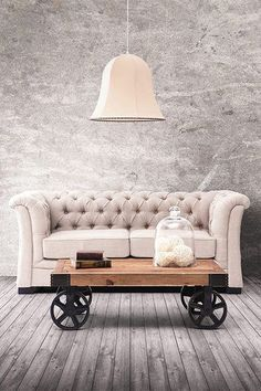 Courtesan Loveseat in Beige