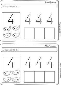Numbers Preschool, Preschool Math, Kids Math Worksheets, Finger Plays, Step Kids, Math For Kids, Alphabet, Homeschool, Teaching