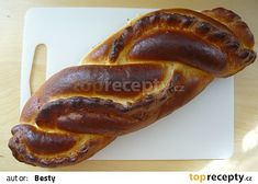Pudingový závin recept - TopRecepty.cz French Toast, Bread, Breakfast, Food, Basket, Morning Coffee, Breads, Bakeries, Meals