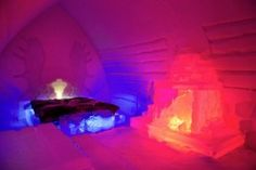 Suite at the Arctic Snowhotel in Rovaniemi in Lapland in Finland - Arctic Snowhotel & Glass Igloos Rovaniemi Kirkenes, Lapland Finland, Visit Norway, Tromso, Arctic, Scandinavian, Northern Lights, Photo Galleries, Tours