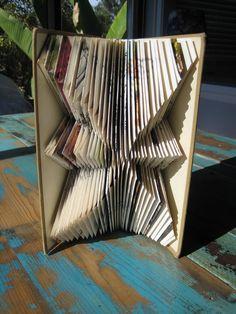 Mark's folded books