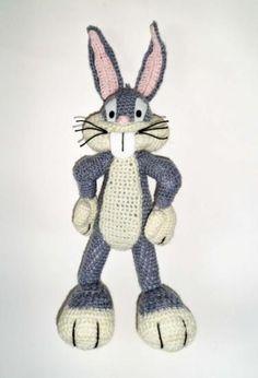 Amigurumi Bugs Bunny Yapilisi : Crochet-Characters on Pinterest Amigurumi, Crochet ...