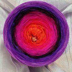Nr. 155: Hochbausch 9 Farben Mix: orange himbeere fuchsia magenta beere schwarz lila violett flieder