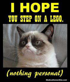 Viral Images for Pinterest, Facebook, & Instagram. How to create amazing quote pictures for social media Fast, Easy & Free http://medicalcareersite.com/crazynurse/2015/10/viral-images-pinterest.html I hope you step on a lego. (nothing personal) #jokes