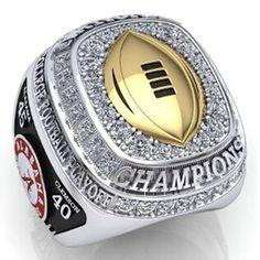 New NCAA 2015 Alabama Crimson Tide Football National Championship Ring Men Women #TuiNui #CasualSporty