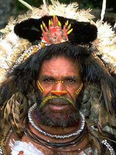 Huli Wigmen - Papua New Guinea