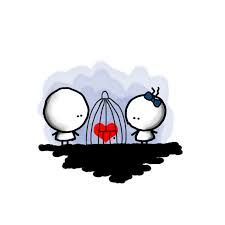 hi, I came again with bigli & migli Bigli and Migli are my children's,I love them very much In a dream cage Sweet Drawings, Sad Drawings, Cute Couple Drawings, Cute Cartoon Pictures, Cartoon Pics, The Family Stone, Easy Doodle Art, Love Doodles, Letters To Boyfriend