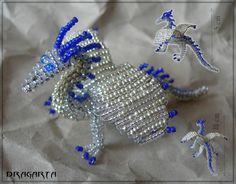beading dragons | Beaded Dragons