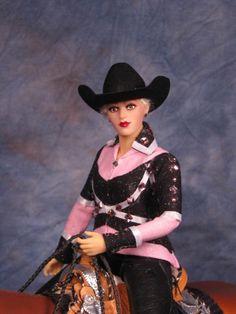 western rider doll for Breyer, Peter Stone, resin horse horses,Yvonne Zica