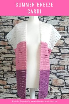 Ideas for crochet summer kimono pattern Kimono Crochet, Pull Crochet, Black Crochet Dress, Crochet Cardigan Pattern, Crochet Jacket, Crochet Shawl, Knit Crochet, Crochet Patterns, Crochet Sweaters