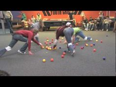 Crossfit Kids Games Ideas: Human Hungry Hungry Hippos looks fun! Youth Group Activities, Camping Activities For Kids, Youth Games, Gym Games, Team Building Activities, Games For Teens, Funny Games, Teamwork Games, Youth Groups
