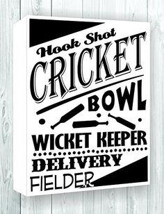 Hook shot cricket bowl wicket keeper delivery fielder 15x24 Canvas art print home decor JS Artworks http://www.amazon.com/dp/B00MZLH8HK/ref=cm_sw_r_pi_dp_Y5feub1P4A5RD