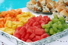 Food ideas for summer party