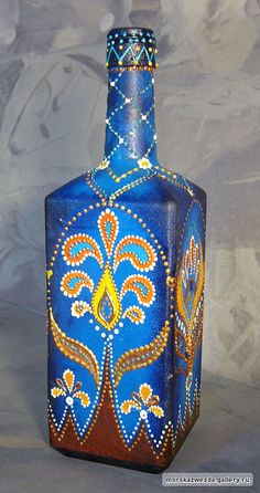 PAINTED BOTTLE