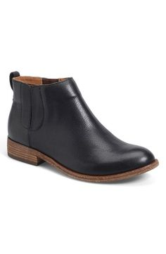 Free shipping and returns on Kork-Ease™ Kork-Ease 'Velma' Bootie at Nordstrom.com. Subtle gores provide an effortless fit in a go-to bootie cut from lightly textured leather.