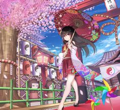 Kawaii and moe Art Anime, Chica Anime Manga, Anime Chibi, Anime Art Girl, Kawaii Anime, Anime Girls, Anime Girl Kimono, Anime Girl Cute, Manga Girl