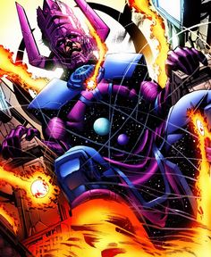 The 15 Most Powerful Characters In The Marvel Universe -  GALACTUS