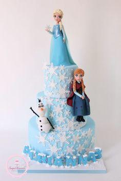 Disney's Frozen Cake