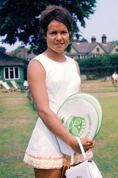 Evonne Goolagong in the 1970s