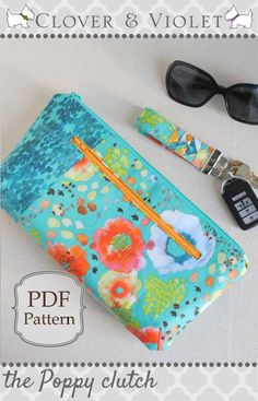 This clutch purse is both cute and functional and is perfect for everyday use.